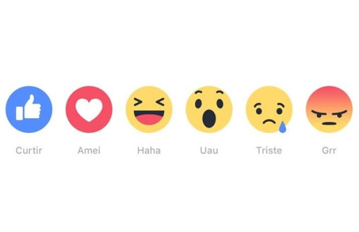 Facebook tem novas opções de Reações