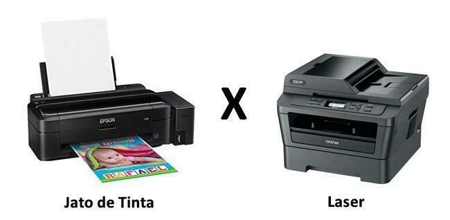 Impressora Jato de Tinta ou Laser – Qual é Melhor?